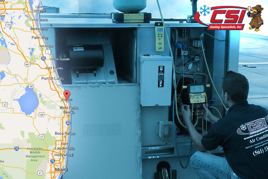 Expert AC Repair Jupiter, FL - CSI Cooling Specialists